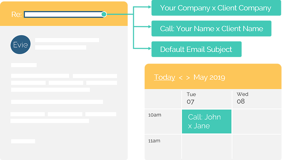 Intelligent, dynamic meeting titles keeps your calendar well-organized