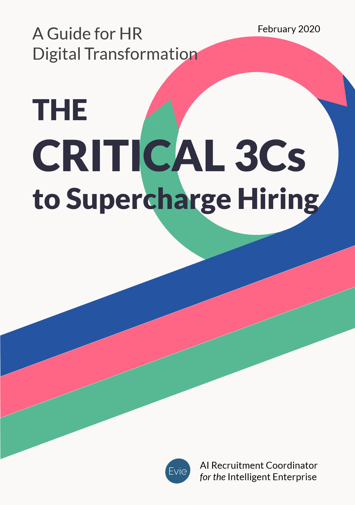 A Guide for HR Digital Transformation: The Critical 3Cs to Supercharge Hiring